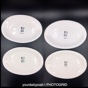 Dine Eat Savor Chow Rae Dunn dessert tapas plates